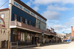 Sovereign Hill, Ballarat, Australia stock image