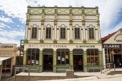 Sovereign Hill Building on Main St Royalty Free Stock Photography