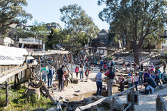 Sovereign Hill Gold Panning Royalty Free Stock Images