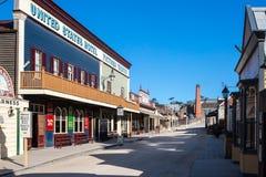 Sovereign Hill Main Street Stock Photography