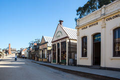 Sovereign Hill Main Street Royalty Free Stock Image