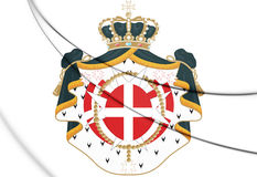 Sovereign Military Order of Malta Coat of Arms. Royalty Free Stock Photo
