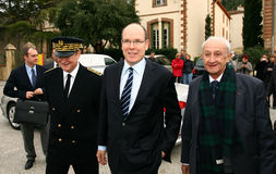 The Sovereign Prince of Monaco Albert II Royalty Free Stock Images