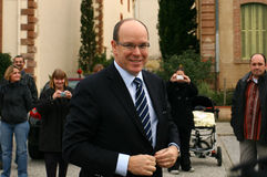 The Sovereign Prince of Monaco Albert II Stock Photos