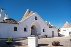 Sovereign Trullo Alberobello Стоковое Изображение RF