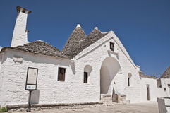 Sovereign Trullo. Alberobello. Apulia. Royalty Free Stock Photography