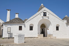 Sovereign Trullo. Alberobello. Apulia. Stock Photography