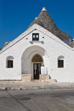 Sovereign trullo. Alberobello. Puglia. Italy. Stock Photos