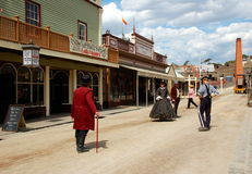 Sovereing hill, Ballarat, Australia. Sovereign Hill is an open air museum in Golden Point, a suburb of Ballarat, Victoria, Australia. Sovereign Hill depicts Royalty Free Stock Image