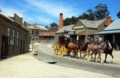 Sovereing wzgórze, Ballarat, Australia obraz stock