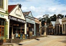 Sovereingsheuvel, Ballarat, Australië Stock Afbeeldingen
