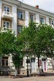 Sovetskay街道11在奥伦堡市 免版税库存图片