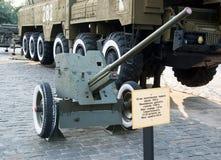 Soviétique model antichar 1942 M-42 d'arme à feu de 45 millimètres Photographie stock