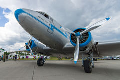 Soviet aircraft Lisunov Li-2, Hungarian airline Malev Stock Photo