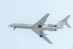 Soviet airliner tu-134 Royalty Free Stock Photos