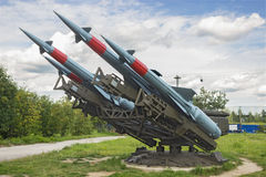 Soviet anti-aircraft missile complex Stock Image