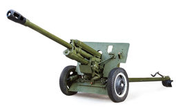 Soviet anti-tank 76 mm gun of the Second World War, ZIS-3 Royalty Free Stock Images