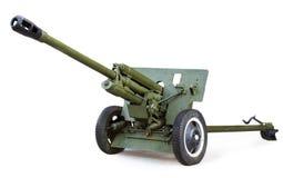 Soviet anti-tank 76 mm gun of the Second World War, ZIS-3 Royalty Free Stock Images