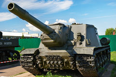 Soviet anti tank self-propelled unit SU-152 Royalty Free Stock Photography