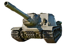 Soviet anti tank self-propelled unit SU-152 Stock Photo