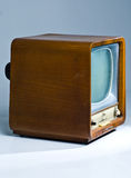 Soviet anziano TV Immagine Stock