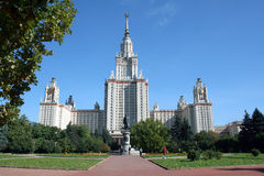 Soviet architecture of the fifties 19 Stock Images
