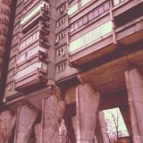Soviet architecture Royalty Free Stock Photography