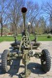 Soviet arma antiaéreo M1940 72-K del calibre de 25 milímetros Fotografía de archivo