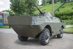 Soviet armored reconnaissance and patrol vehicle BRDM-2 Royalty Free Stock Image