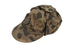 Soviet army camouflage cap Royalty Free Stock Photo