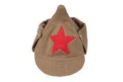 Soviet army cap Royalty Free Stock Image