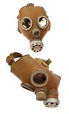 Soviet army gas mask Stock Photography
