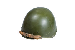 Soviet army Helmet Second World War Stock Photo