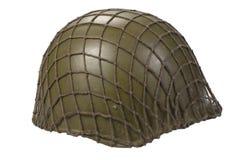 Soviet army infantry helmet Stock Images
