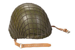 Soviet army infantry helmet Royalty Free Stock Images