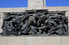 Soviet Army monument Stock Image
