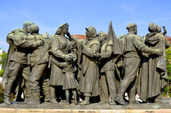 Soviet Army monument Royalty Free Stock Images
