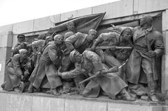 Soviet Army monument Royalty Free Stock Photography