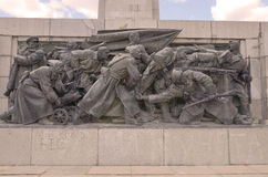 Soviet Army monument Stock Photo