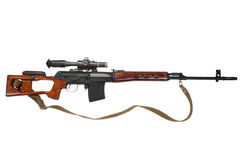 Soviet army sniper rifle Stock Photography