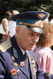 Soviet Army veteran Royalty Free Stock Photo