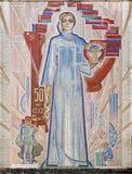 Soviet art Royalty Free Stock Image