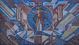 Soviet art Stock Photography
