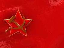 Soviet background Stock Photography