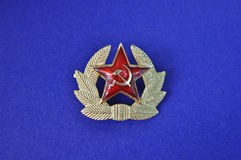 Soviet badge. Stock Photography