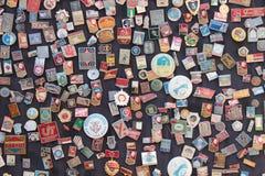 Soviet badges Royalty Free Stock Image