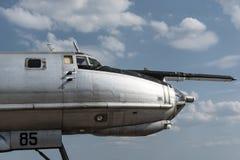 Soviet bomber Royalty Free Stock Image