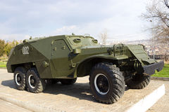 Soviet BTR-152 vehicle. Soviet BTR-152 wheeled armored personnel carrier Stock Photography