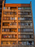 Soviet building. In a suburb in Saint Petersburg, Russia Stock Photography