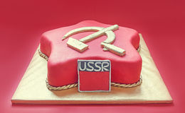 Soviet Cake Royalty Free Stock Photos